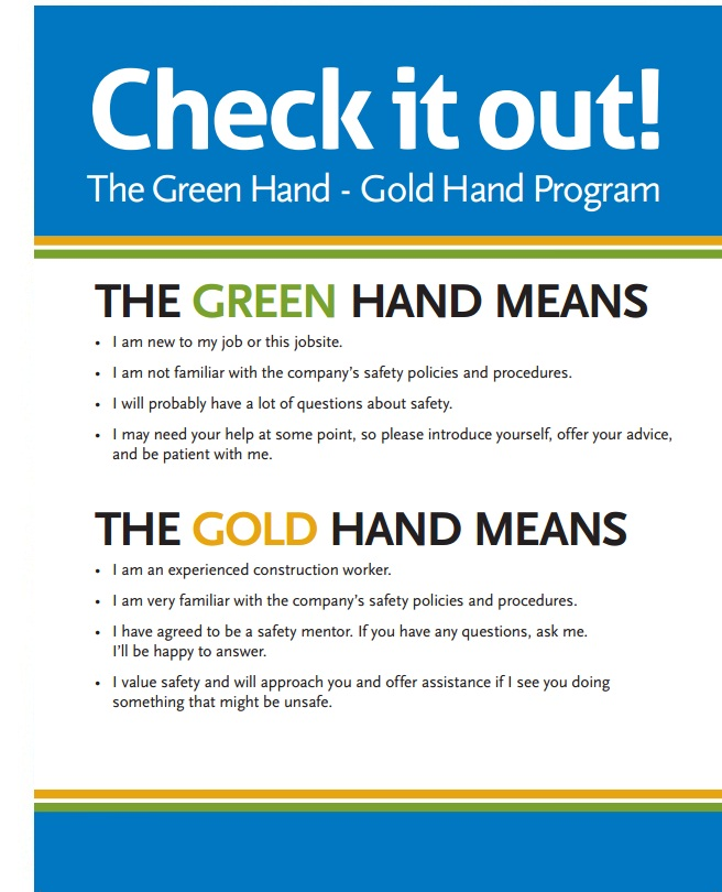 The Green Hand Gold Hand Program